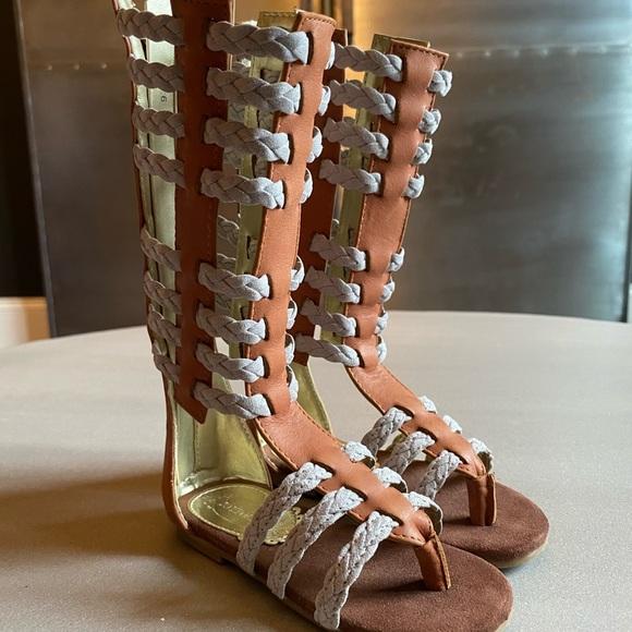 Joyfolie Little Girls Gladiator Sandals